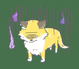 Oage fox sticker #2257723