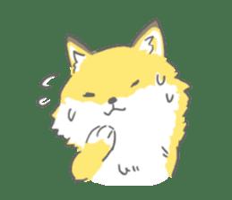 Oage fox sticker #2257726