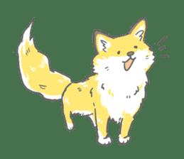 Oage fox sticker #2257728