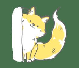 Oage fox sticker #2257729
