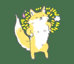 Oage fox sticker #2257733