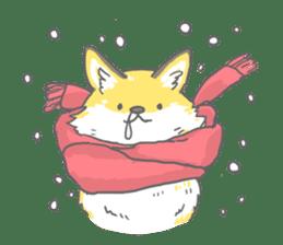 Oage fox sticker #2257734