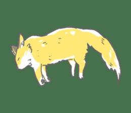 Oage fox sticker #2257735