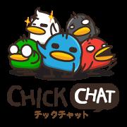 สติ๊กเกอร์ไลน์ Chick Chat [JP]