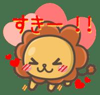 Chibi-Lion sticker #2261830