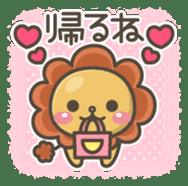 Chibi-Lion sticker #2261831