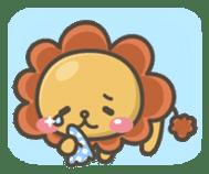 Chibi-Lion sticker #2261843