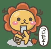 Chibi-Lion sticker #2261849
