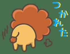 Chibi-Lion sticker #2261851