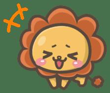 Chibi-Lion sticker #2261856