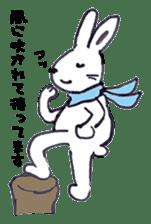with rabbit sticker #2262955