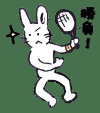 with rabbit sticker #2262961