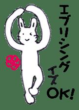 with rabbit sticker #2262964