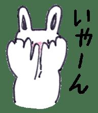 with rabbit sticker #2262965
