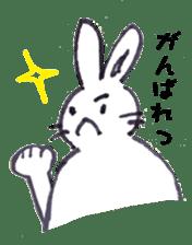 with rabbit sticker #2262969