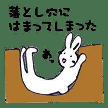 with rabbit sticker #2262973