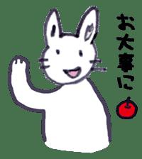 with rabbit sticker #2262976