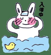 with rabbit sticker #2262979