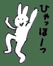 with rabbit sticker #2262981