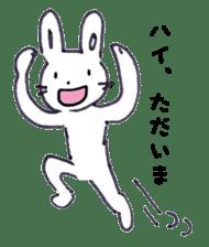 with rabbit sticker #2262982