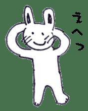 with rabbit sticker #2262983