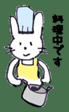 with rabbit sticker #2262985