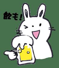 with rabbit sticker #2262988