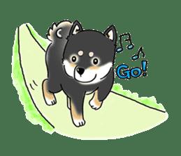 "Shiba Inu ""Hanapi"" & ""Kinako"" body type sticker #2272093"