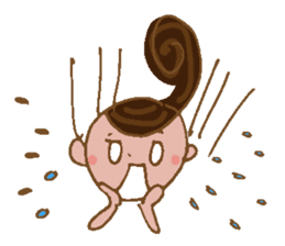 yuru~i ka~san sticker #2272830