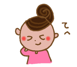 yuru~i ka~san sticker #2272842