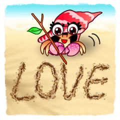Sand Writing & Hermit Crab (Int'l)