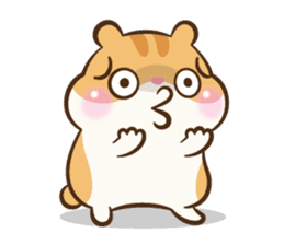 Chloe the hamster sticker #2276155