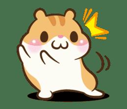 Chloe the hamster sticker #2276157