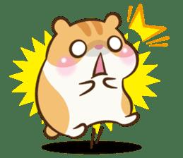 Chloe the hamster sticker #2276164