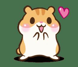 Chloe the hamster sticker #2276165