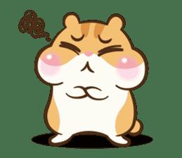Chloe the hamster sticker #2276170