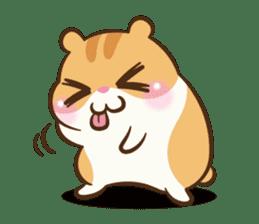 Chloe the hamster sticker #2276175