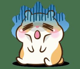 Chloe the hamster sticker #2276176