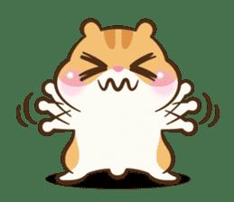 Chloe the hamster sticker #2276178