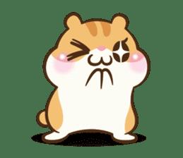Chloe the hamster sticker #2276179