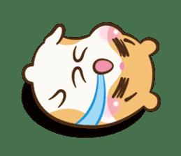 Chloe the hamster sticker #2276183