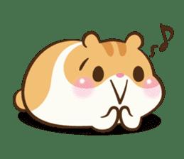 Chloe the hamster sticker #2276186