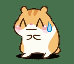 Chloe the hamster sticker #2276189