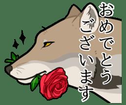 Tibetan sand fox stickers! sticker #2278119