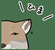Tibetan sand fox stickers! sticker #2278128
