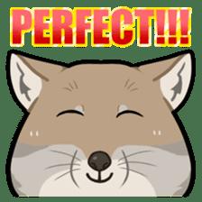 Tibetan sand fox stickers! sticker #2278143