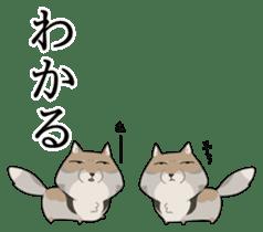 Tibetan sand fox stickers! sticker #2278150
