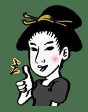 Oedo Girls sticker #2278952