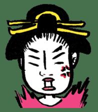 Oedo Girls sticker #2278955