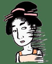 Oedo Girls sticker #2278956
